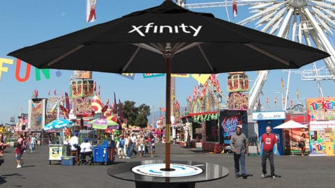 XFINITY Mobile Charging Stations Debut At SunFest Music Festival